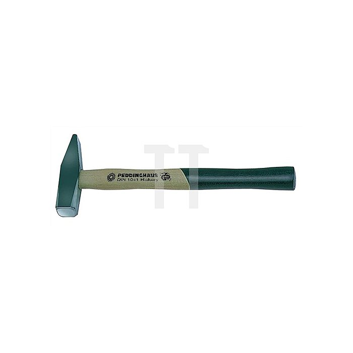 Schlosserhammer 300g Stiel-L.300mm Hickorystiel PEDDINGHAUS DIN1041