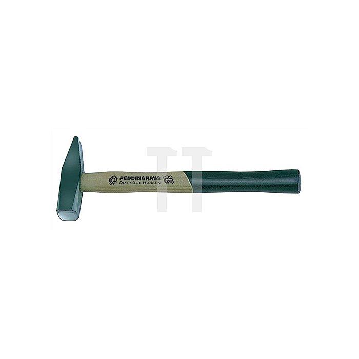 Schlosserhammer 400g Stiel-L.310mm Hickorystiel PEDDINGHAUS DIN1041