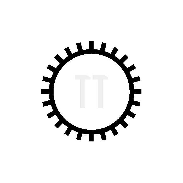 Schlüsselfeile rd. Hieb2 L.100mm DIN7283-A-F o.Heft