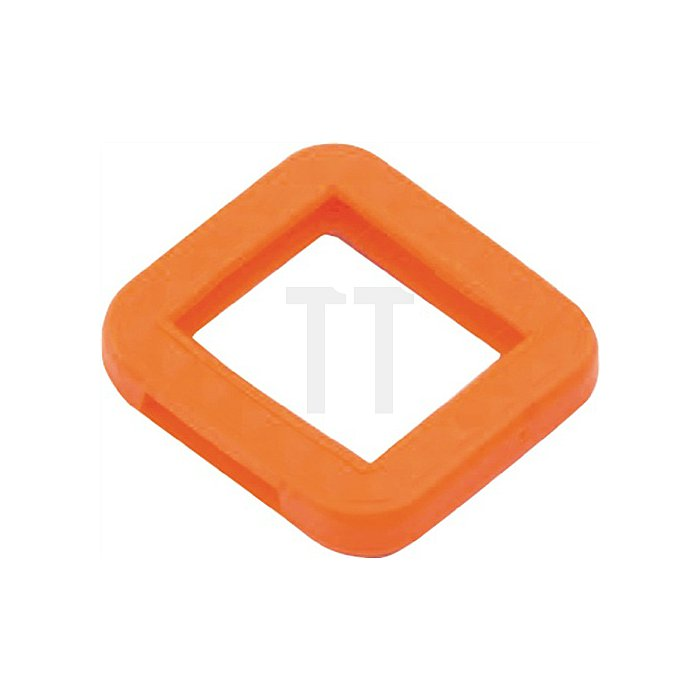Schlüsselkennring 8004 E FS fbg. sort. eckig für BKS farbig sortiert