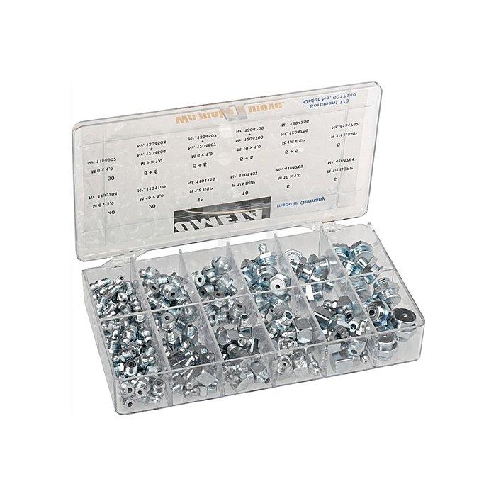 Schmiernippelsortiment 170tlg.Box
