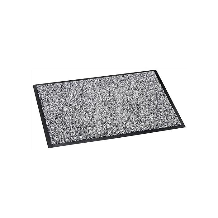Schmutzfangmatte grau B.600xL.900mm Vinyl-Beschichtung
