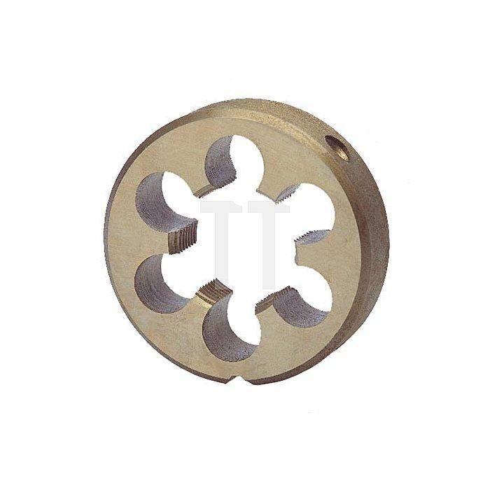 Schneideisen G DIN EN 24231 HSS, geschliffen G 1 5/8