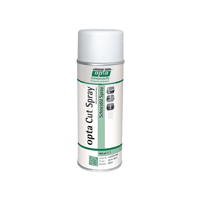 Schneidölspray 400ml f.alle Metalle chlorfrei opta Cut Spray