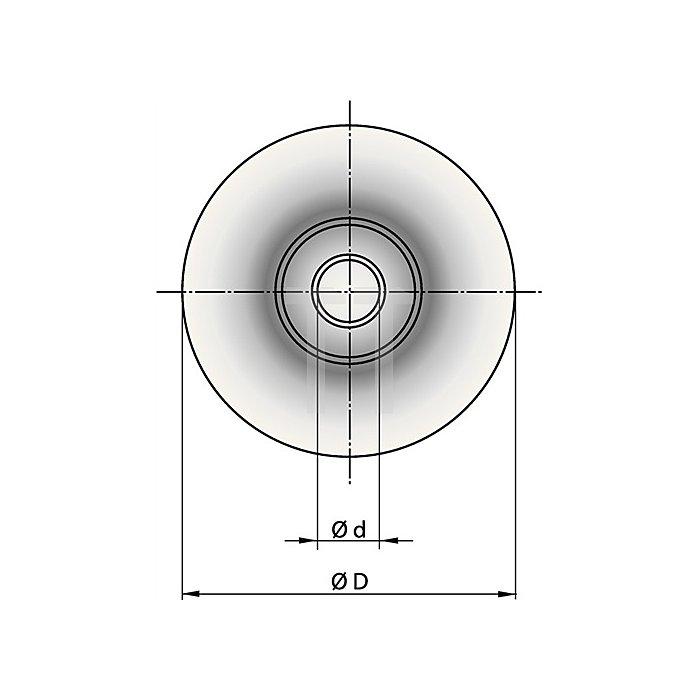 Schneidrädchen D.20mm f.niro-Rohre