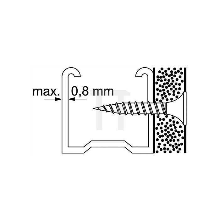 Schnellbauschraube Feingewinde SS 4,2x75 F, 200St./Karton