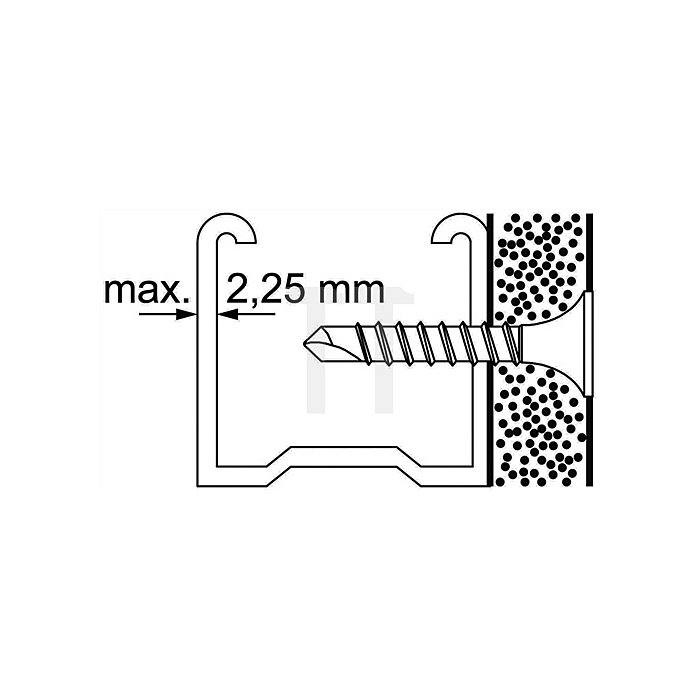 Schnellbauschraube Teks Bohrspitze SSB 3,5x55, 500St./Karton