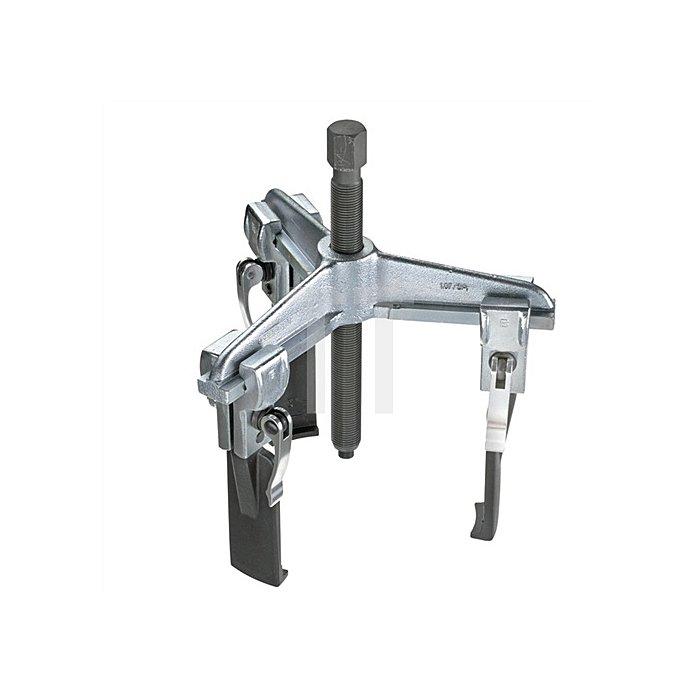 Schnellspann-Abzieher Spann-T.100mm Spann-W.90mm 3armig m.schlanken Haken
