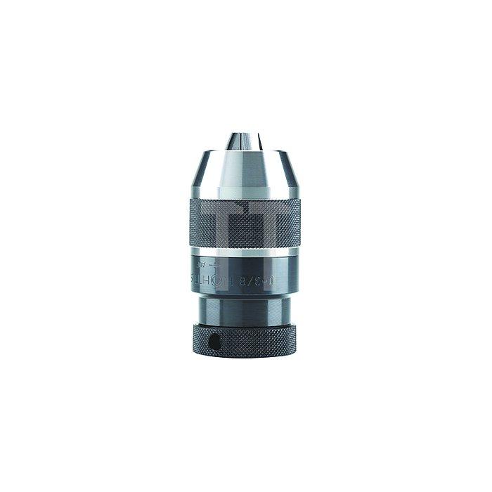 Schnellspann-Bohrfutter SPIRO-I, Größe 10, Aufnahme B 12, Rundlauf 0,05 mm
