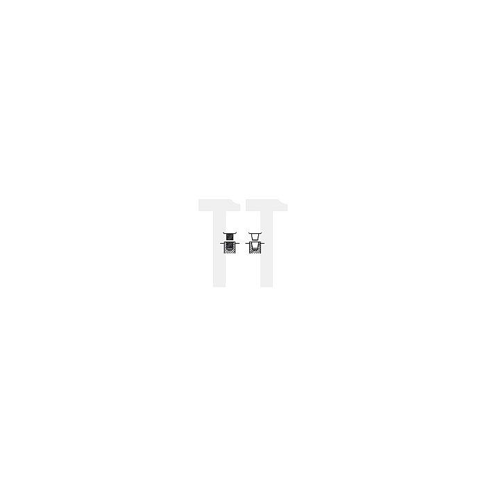 Schnellspann-Bohrfutter SUPRA-SK, Größe SK 10S, Aufnahme B 12, schlagbohrfest