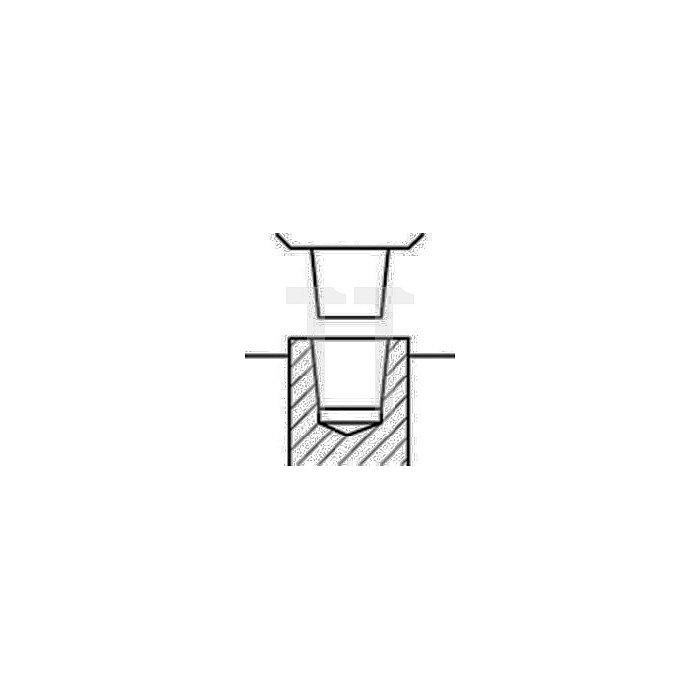 Schnellspannbohrfutter Supra S Spann-W.0-8mm B12 f.Rechtslauf