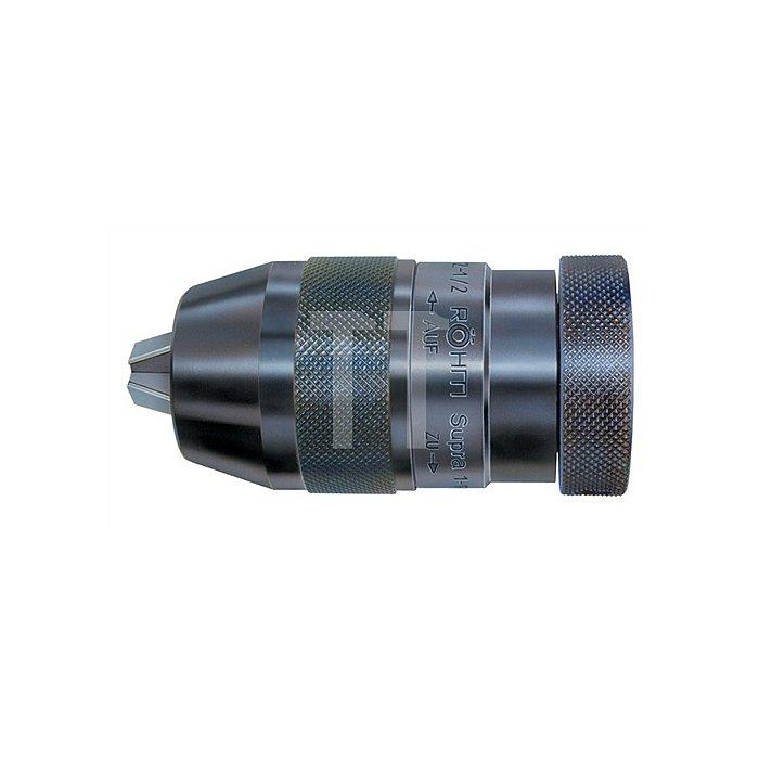 Schnellspannbohrfutter Supra S Spannw.0,5-10mm 1/2Zoll-20 f.Rechtslauf