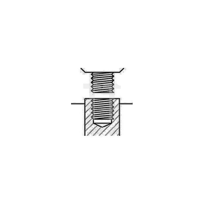 Schnellspannbohrfutter Supra S Spannw.0,5-10mm 3/8Zoll-24 f.Rechtslauf