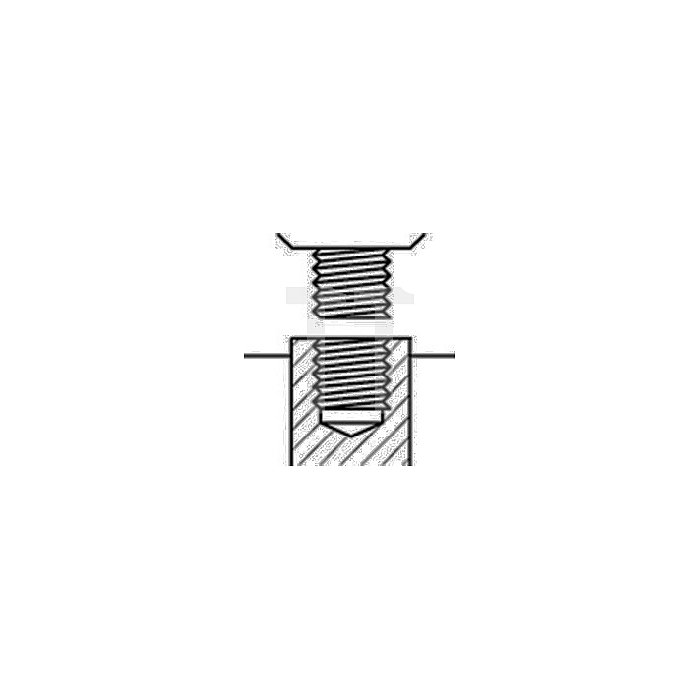 Schnellspannbohrfutter Supra S Spannw.1-13mm 1/2Zoll-20 f.Rechtslauf