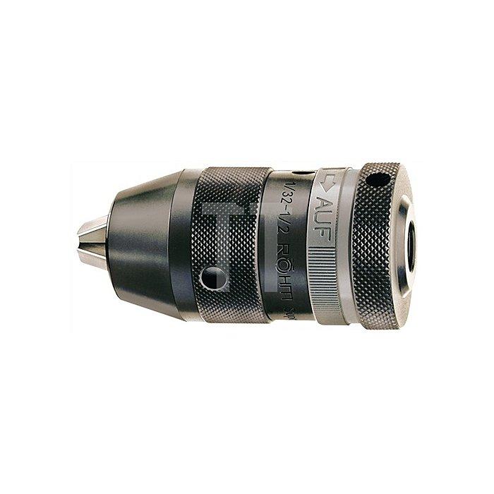 Schnellspannbohrfutter Supra SK Spann-W.0,5-10mm B12 f.Rechts-/Linkslauf
