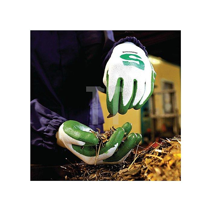 Schnittschutzhandschuh Check & Go GREEN NIT 5 Gr.9 grün/orange Dyneema®