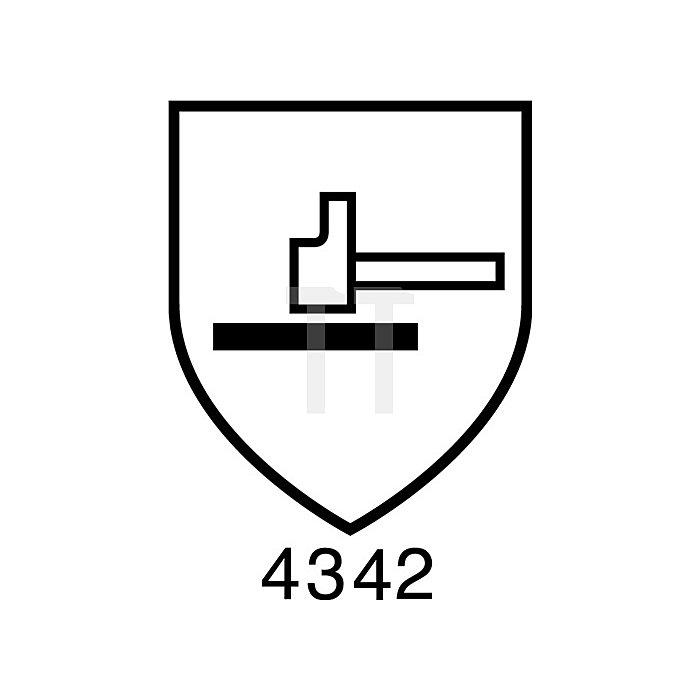 Schnittschutzhandschuh EN388 Kat.II HyFlex Nr.11-724 Gr.9 HPPE, PU, weiss/gr.