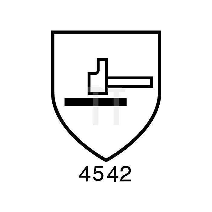 Schnittschutzhandschuh Sharpflex Latex EN 388/407 Gr.9 gelb/grün Kevlar Polyamid
