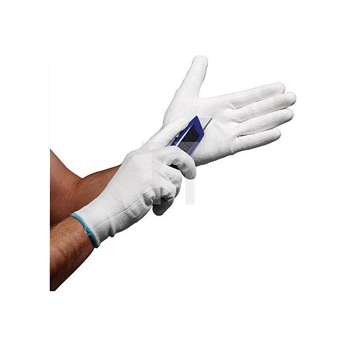 Schnittschutzhandschuhe Gr.10 grau PU-teilbeschicktet EN388 CE