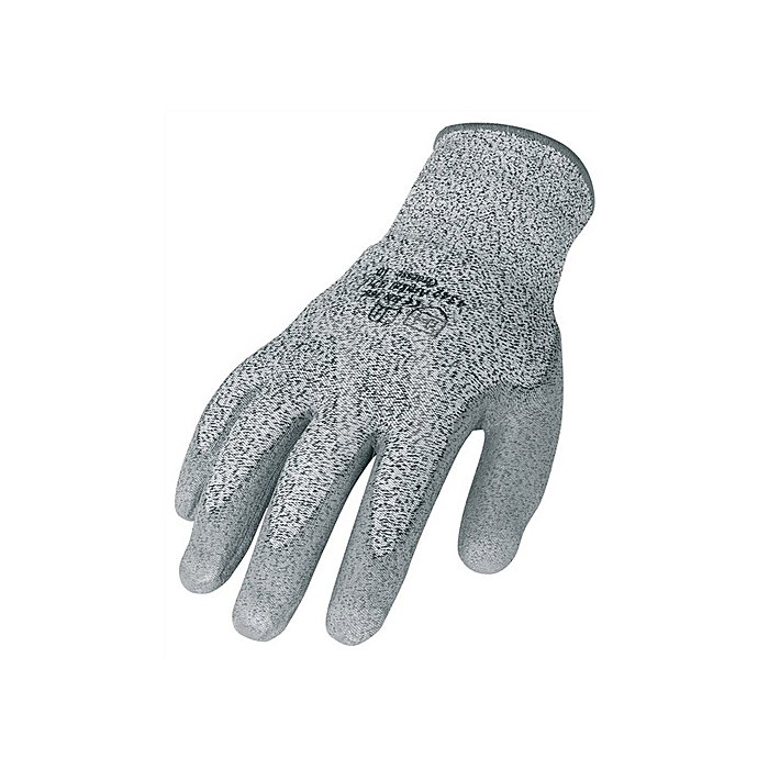 Schnittschutzhandschuhe Gr.9 grau PU-teilbeschichtet EN388 CE
