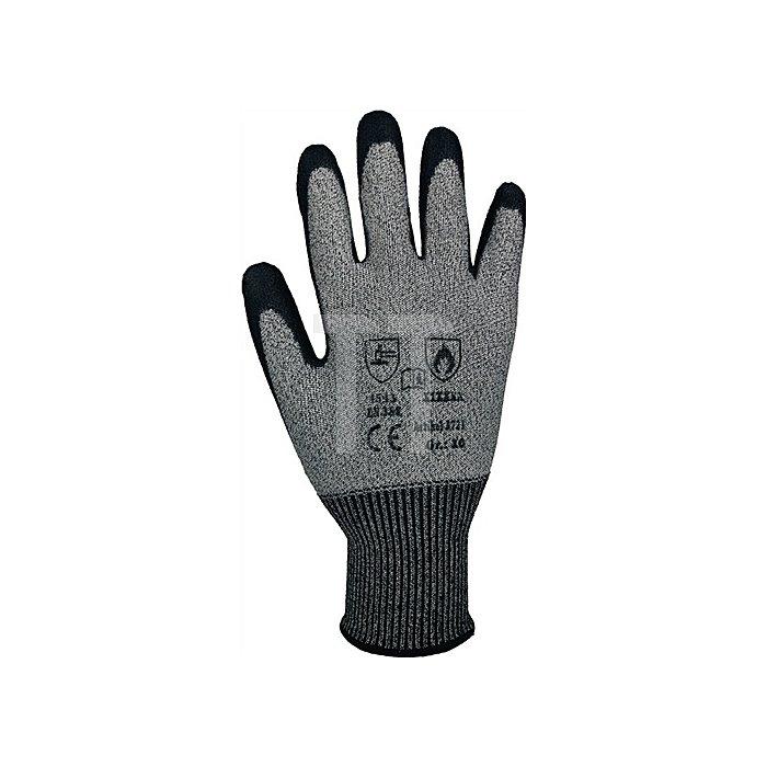 Schnittschutzhandschuhe Taeki5 Gr.8 grau m.PU-Beschichtung EN388
