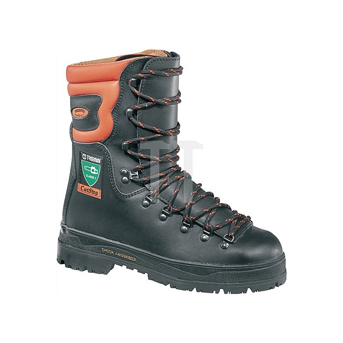 Schnittschutzstiefel S3 Gr.42 Leder sw/orange b.-20GradC EN345-2