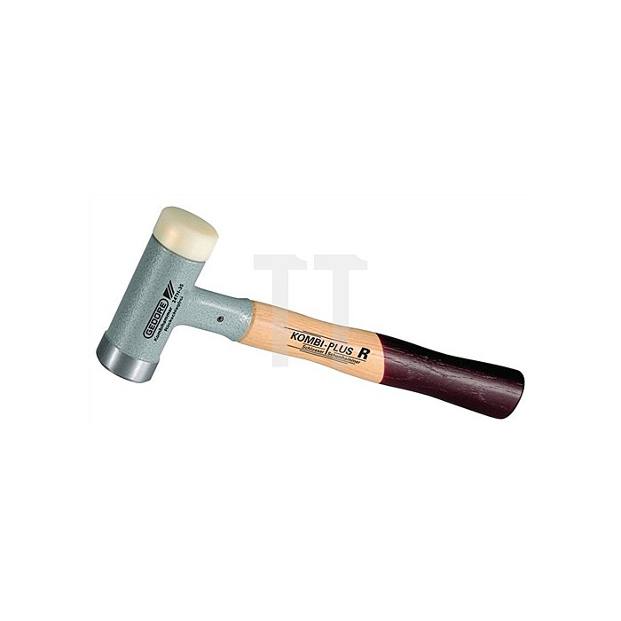 Schon-/Schlosserhammer 35mm Kombi-Plus R Hickorystiel