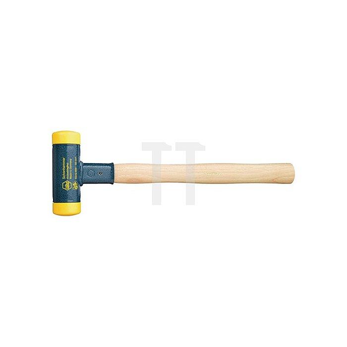Schonhammer 2600g Kopf-D.70mm Ges.-L.430mm gelb/gelb rückschlagfrei mittelh. PUR