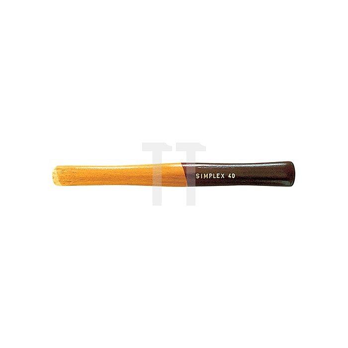 Schonhammerersatzstiel L.395mm Schlagflächen-D.80mm Simplex