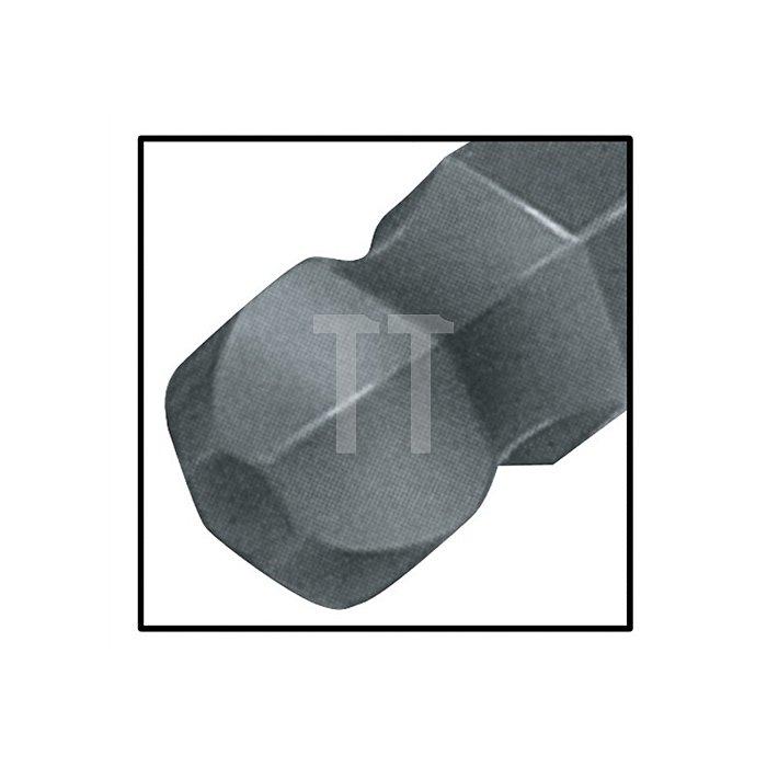 Schraubendreher 6KT-Kugelkopf SW 5x100mm Ges.-L.211mm 6KT-Klinge Chrom matt