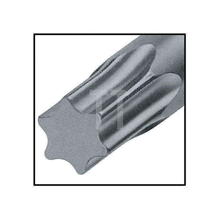 Schraubendreher TX Gr.27 Klingen-L.150mm Klinge Chrom matt m.Seitenabtrieb