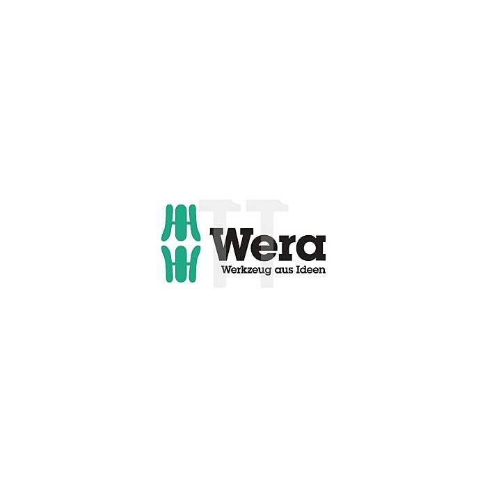 Schraubendreher VDE/IEC 100x4mm Schlitz m.Mehrkomp.-Heft WERA