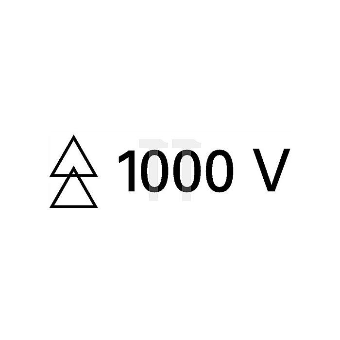 Schraubendreher VDE/IEC 150x6,5mm Schlitz WERA Mehrkomp.-Heft