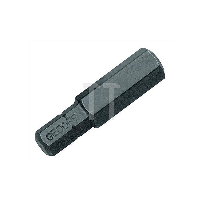 Schraubendreherbit 5/16Zoll Innen-6-kant 4mm