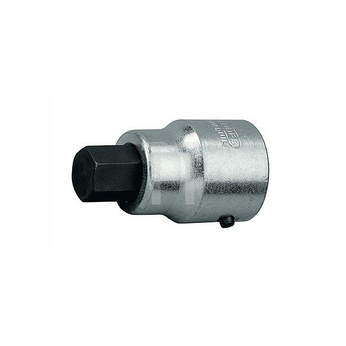Schraubendrehereinsatz 1Zoll Innen-6-kant 22mm