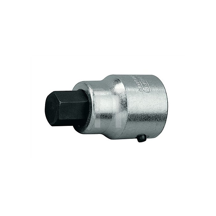 Schraubendrehereinsatz 1Zoll Innen-6-kant 24mm