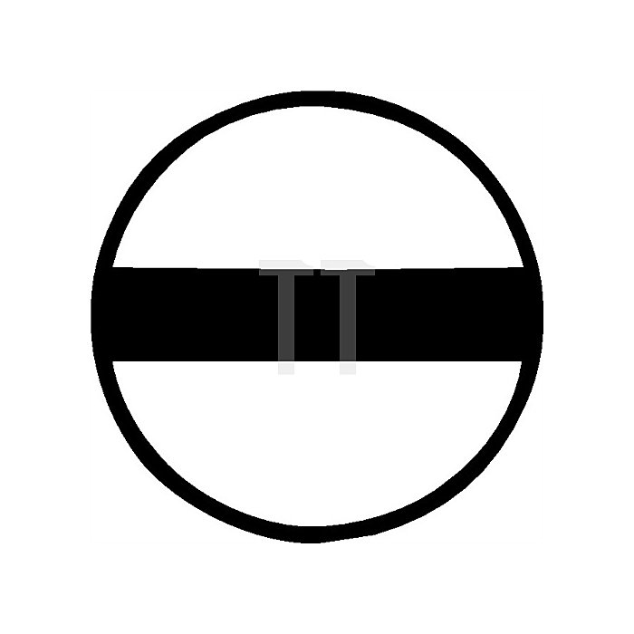 Schraubendrehersatz 6tlg. Schlitz 3,5/4,5/5,5/7PZD 1/2 6KT-Klinge/Ansatz Chrom
