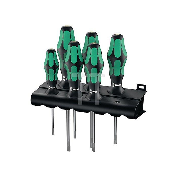 Schraubendrehersatz 6tlg. TX10/15/20/25/30/40 Kraftform-heft m.Haltefunktion 367