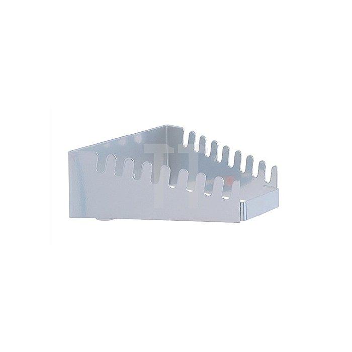 Schraubenschlüsselhalter f.8Schlüssel H.50x B.130/60xT.150mm waagerecht