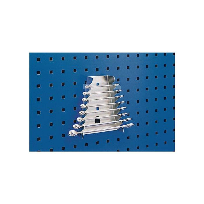 Schraubenschlüsselhalter m.8 Aufnahmen f. Lochplatten Bott
