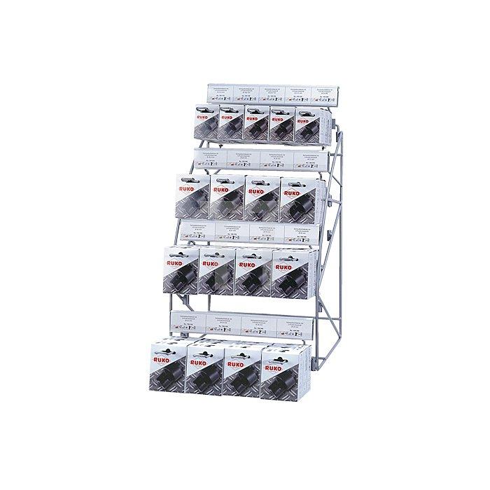 Schraublochstanzen-Modul mit 3-Punkt-Anschnitt in Kartonverpackung