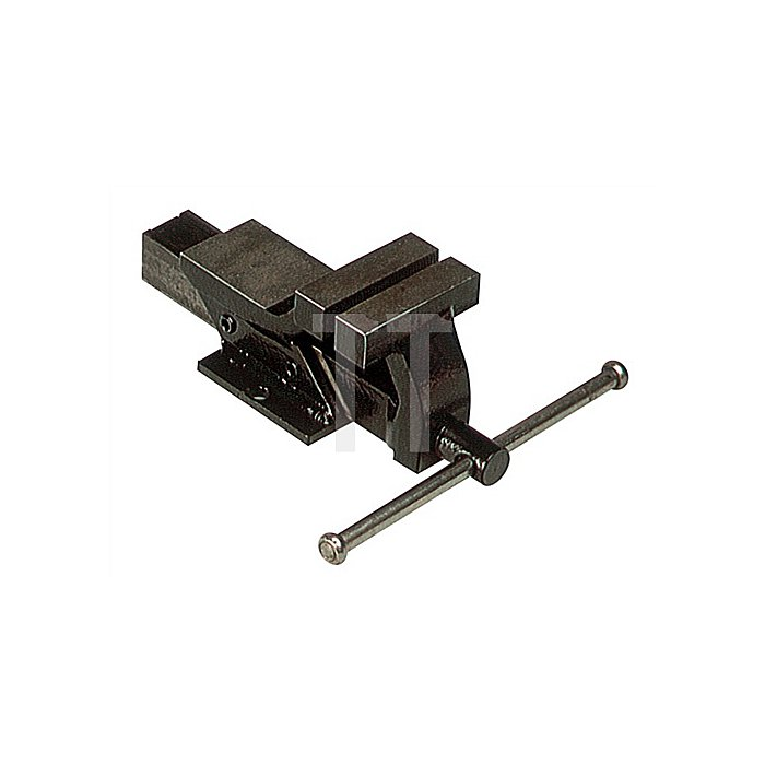 Schraubstock B.125mm Spann-W.125mm m.gr.Amboß WABECO Rohrspannbacken