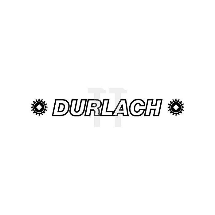 Schraubstock Magnat B.100mm Spann-W.130mm DURLACH Spann-T.65mm