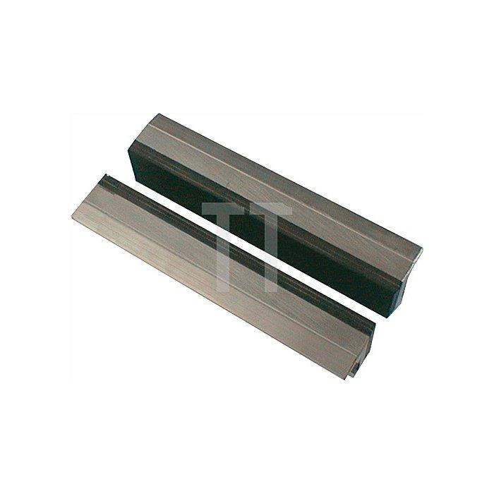 Schraubstockschutzbacken m. Gummibelag, 160mm Backenbreite, Spannen von dünnwän