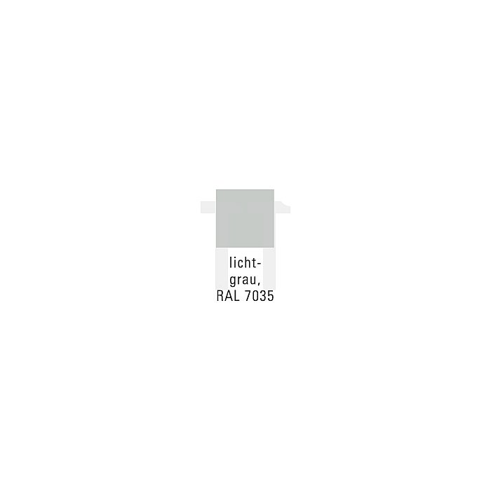 Schreibpultaufsatz RAL7035 f.Werkz.-Beistellschrank 500x500mm