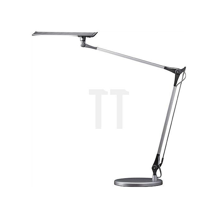 Schreibtischleuchte Alu.m.Standfuß,3-Stufen-Dimmer LED, Leuchtmittel Auslad.1000