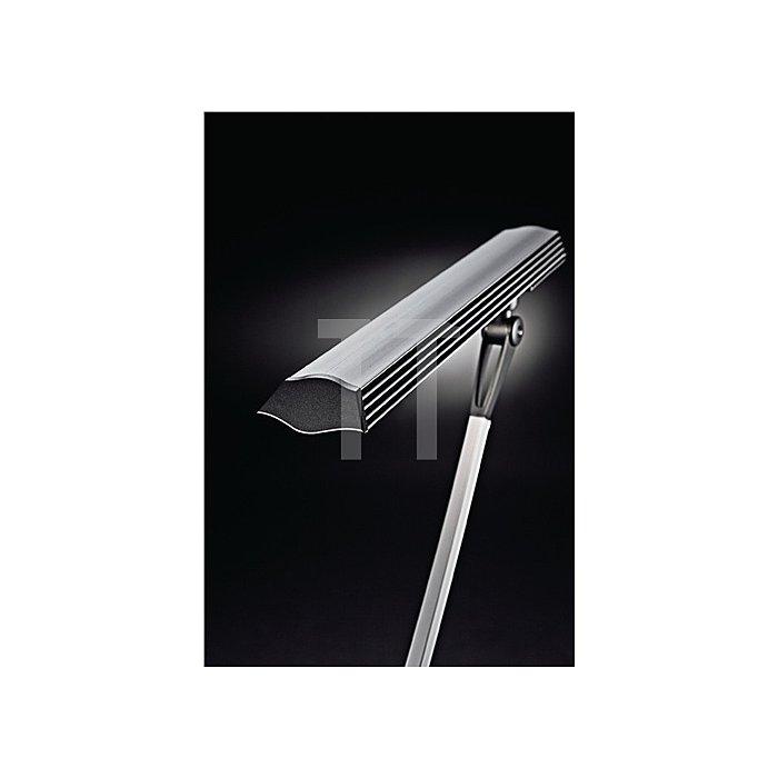 Schreibtischleuchte Alu.m.Standfuß,3-Stufen-Dimmer, LED, Leuchtmittel Auslad.670