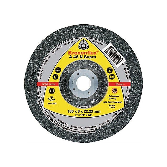 Schruppscheibe A 24 N 115x6x22,23mm Edelstahl