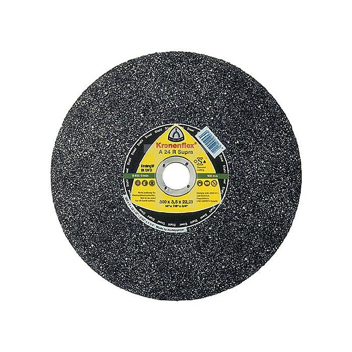 Schruppscheibe A 46 N 115x6x22,23mm Aluminium