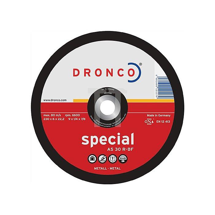 Schruppscheibe AS30R Special 115x6,0x22,23mm gekröpft